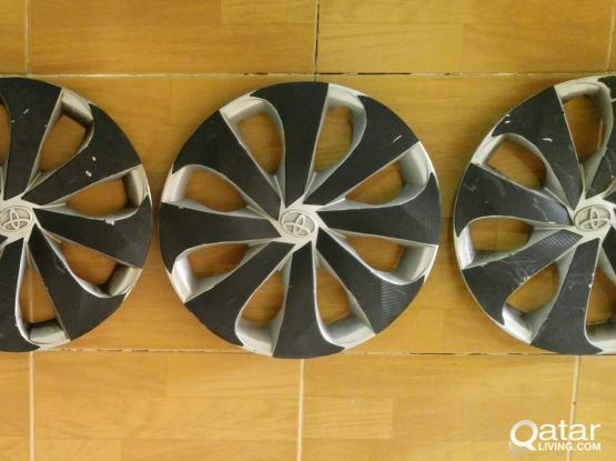 "Original Toyota Tire Cover 15"" غطاء كوتش تويوتا"
