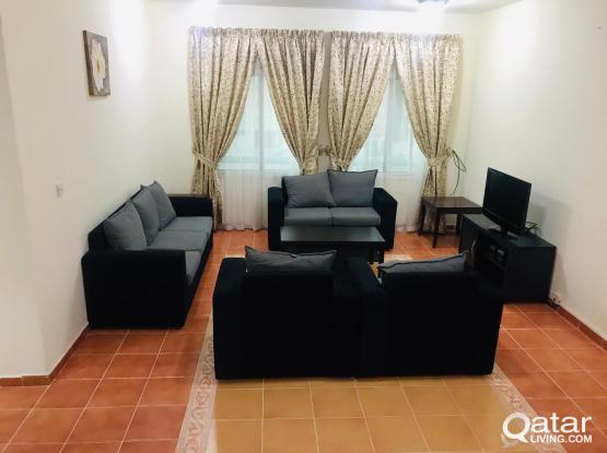 Fully furnished 2BHK Al Sadd ( NO Commission )