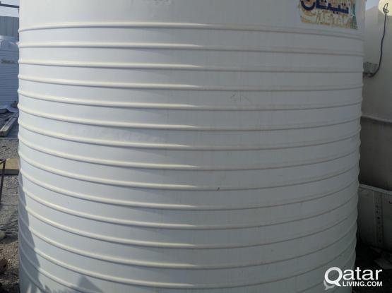 Used water tanks