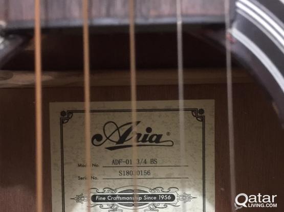 Aria 3/4 Size Acoustic Guitar