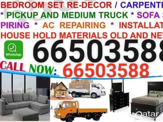 We do Moving shifting service Carpenter call 66503588  good working good price give YOU need Buy Furniture itme