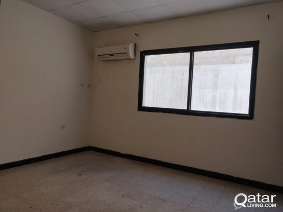 VILLA PORTION STUDIO AVAILABLE AT OLD AIRPORT (CLOSE TO QATAR AIRWAYS TOWER)