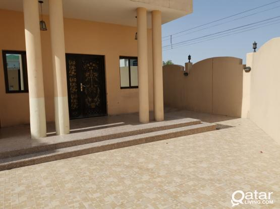 STAND ALONE VILLA FOR RENT- 6 BR + MAIDS ROOM- New Al Rayyan