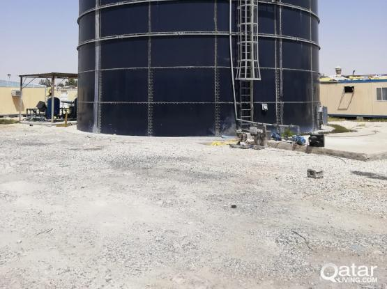 SEWAGE TREATMENT TANK WITH FULL ACCESSORIES