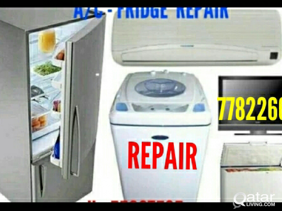 Split AC FRIDGE, AND WASHING MACHINE REPAIR