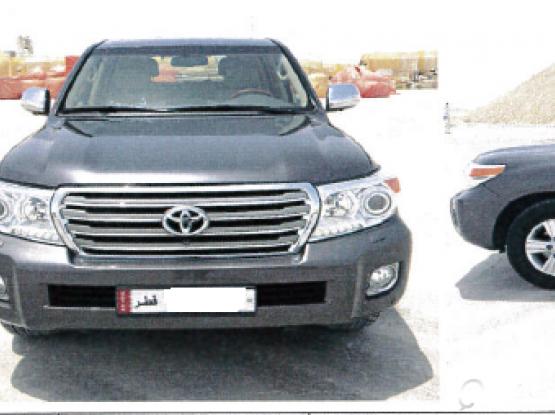 Toyota Land Cruiser VXR 2014