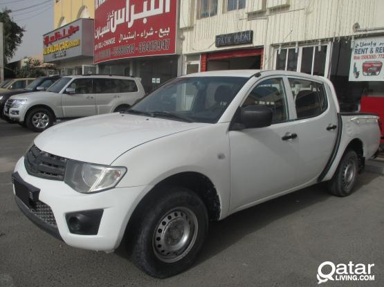 MITSUBISHI PICK UP L200 ONE TON WITH ECONOMICAL PRICE