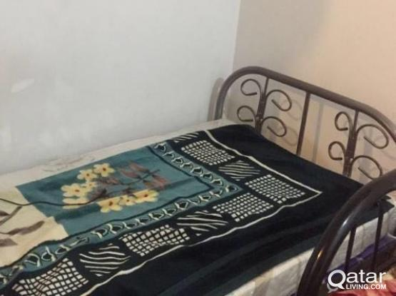BED SPACE FOR BACHELOR-500 QR