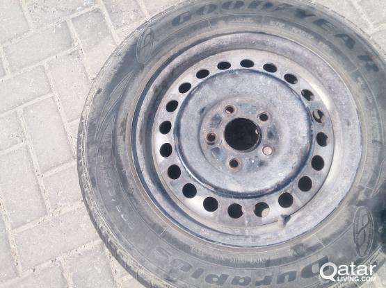 "wheel rim 15"" 5bolts"