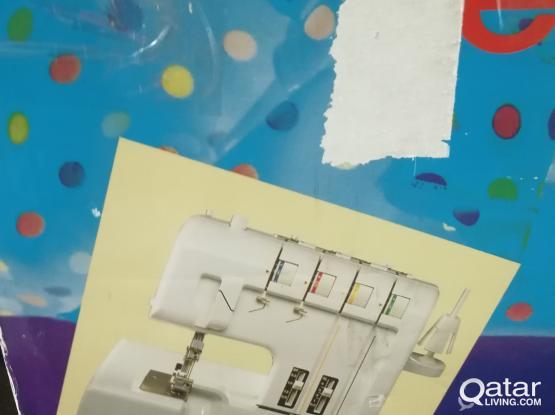 Overlock cloths sewing machine deliv.