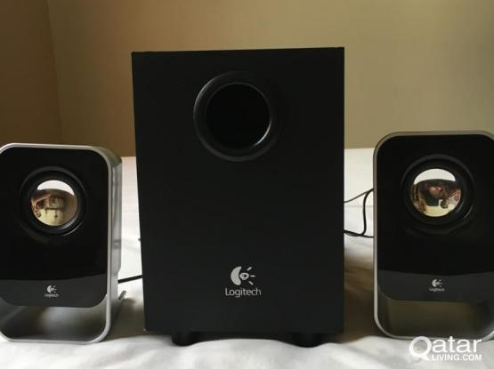 Loitech PC Spekers with subwoofer