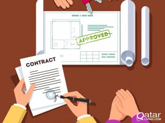 55288038-Gauranteed House Contract For Family Visa/Health ID With Baladiya Attestion.
