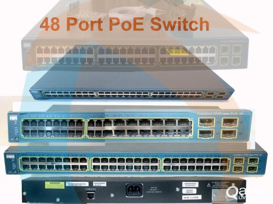 NETWORKING SWITCHES ARE AVAILABLE