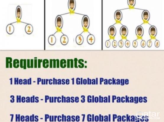 A  lifetime business opportunity, internationally