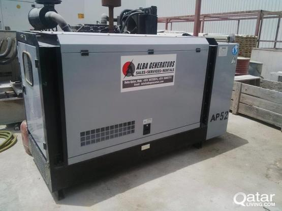 GENERATORS AVAILABLE FOR RENT