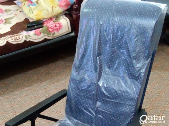 Reclining  Chair  / Full push back / Flat like Bed / Sitting