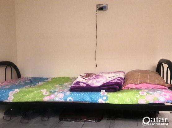 New Villa - BED SPACE near Toyata Signal @ 600 QAR