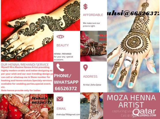 HENNA/MEHANDI DESIGNING cAL 4 HOME SERVICE @66526372
