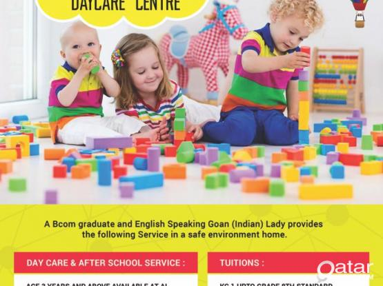 Child Day Care & Tutions Service