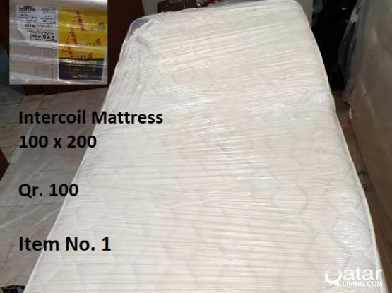 HIGH QUALITY MATTRESS & FIRM BOX FOR SALE - PRICES From Qr. 100 to Qr. 2,000/-