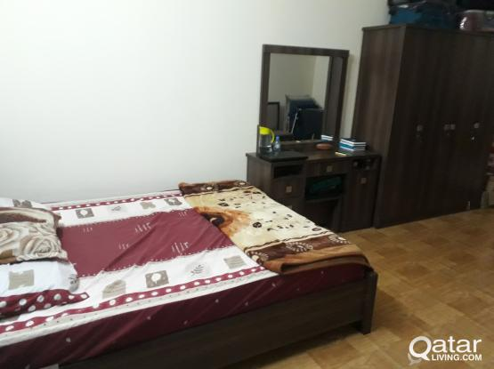 FULLY FURNISHED ROOM AVAILABLE @ MURRA NEAR TO ASPIRE FROM END OF MAY