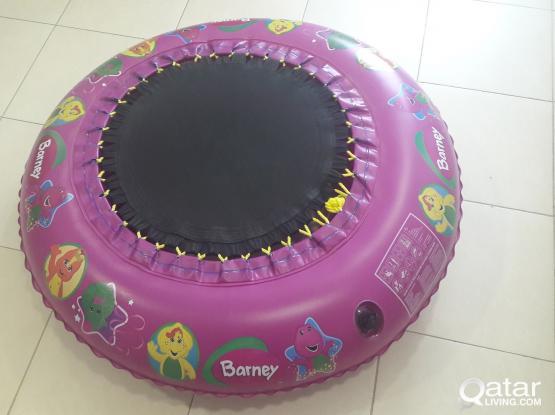 Barney & Friends 4ft Trampoline
