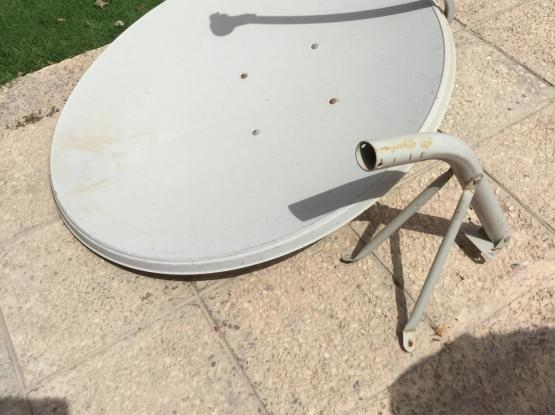 Satellite dish 1m with LNB and stand