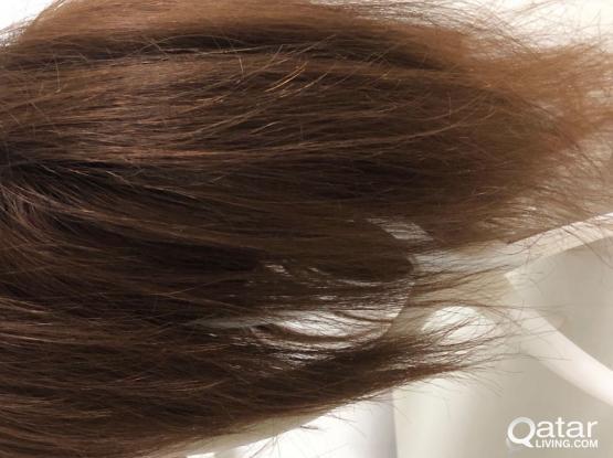 100% natural hair wig