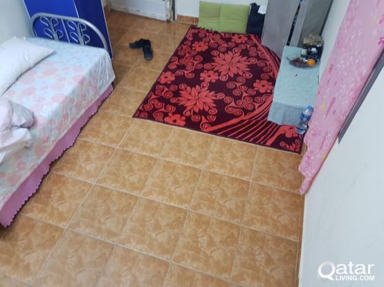 ROOM RENT@ alNasr near Mirqab Mall (filipinos)