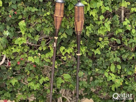 2 Oil Torches