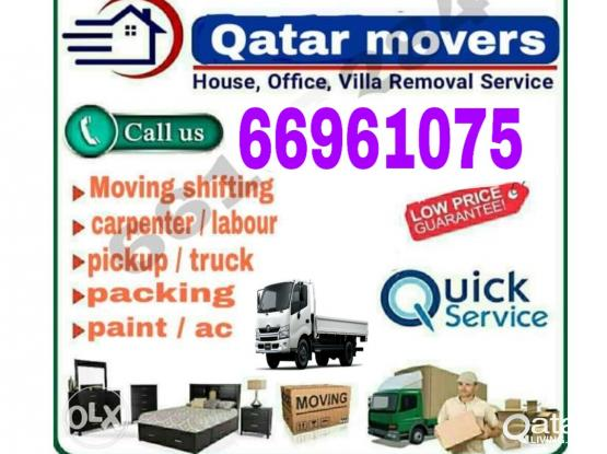 moving & shifting service in Qatar. call 66961075