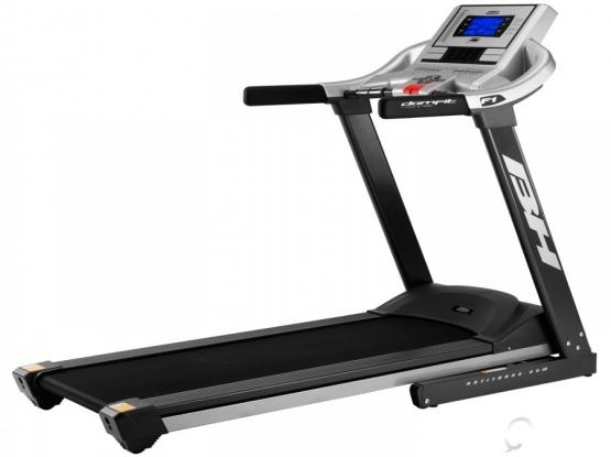 Very Rarely Used BH Fitness F1 Folding Treadmill for sale