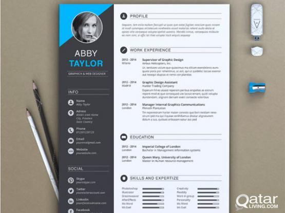 Professional CV maker & designer