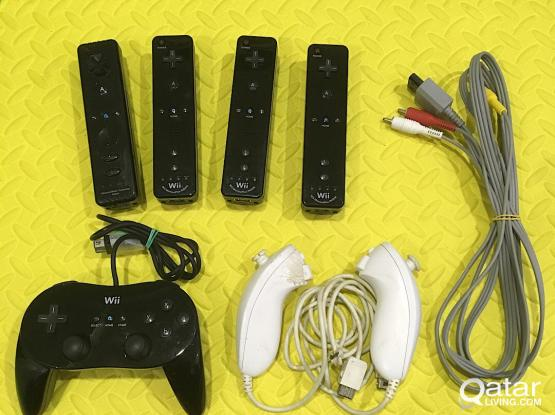 Accessories for Nintendo Wii and Wii U
