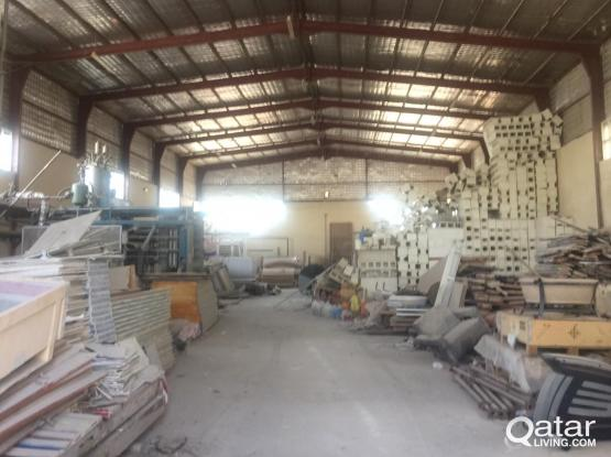 Warehouse 700 sq.m civil defense approved industrial area