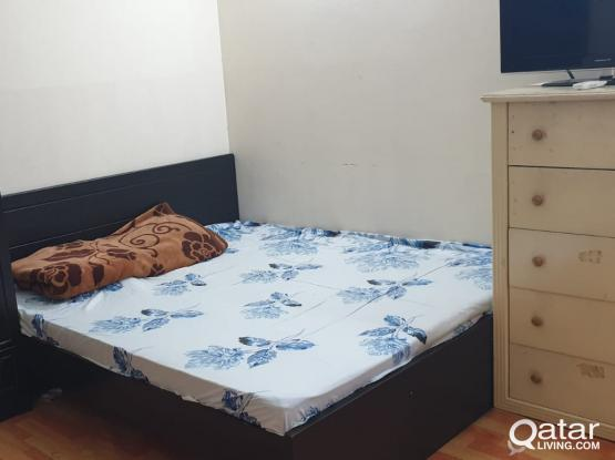 Furnished Room with separate kitchen & bath for keralite couple