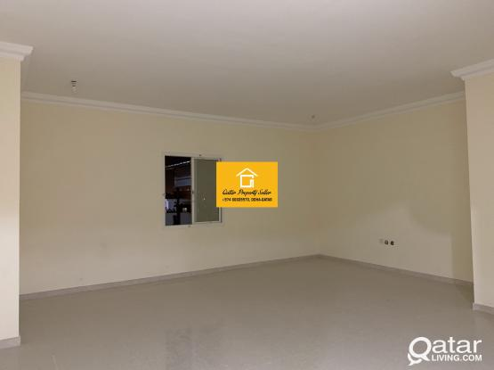 Spacious brand new 1 bhk for rent without partition in Aziziya