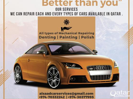 ALL CARS SERVICES AT ONE POINT ( ALSAAD CARS SERVICES )