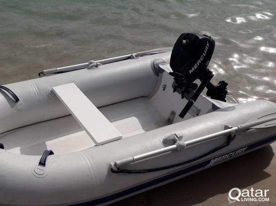 Mercury inflatable dinghy