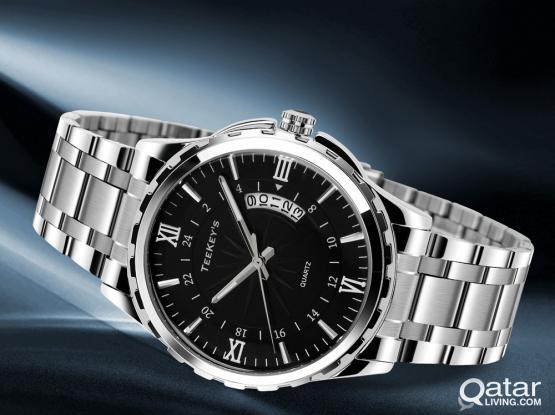 TEEKEY'S TK9069 Luxury Men Quartz Wristwatches Dive 30M Fashion Sport Watch