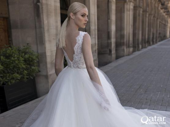 Luxury wedding dresses in Qatar