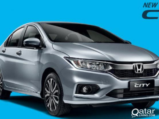 DONT MESS , ONLY FOR RAMADAN OFFER 1600 QAR FOR MONTHLY HONDA CITY 2017 MODEL ,CONTRACT :- 50399150