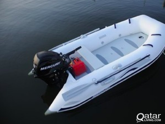 60 HP Mercury 300 Zodiac Boat for sale