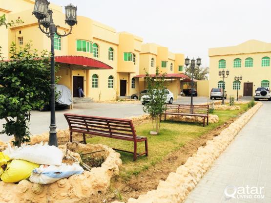 One Month Free Spacious 5 BHK Furnished compound villa al aziziya