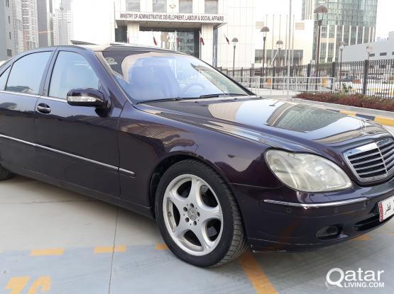 Mercedes S 500 2002