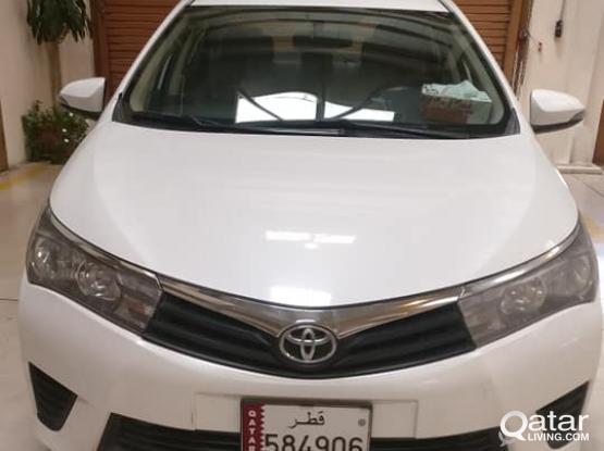 Toyota Corolla XLI 2014