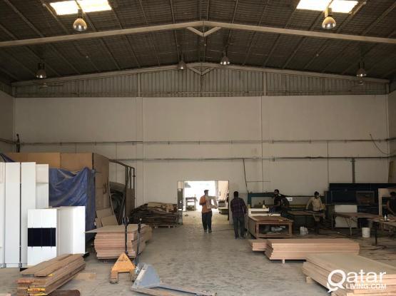 800 Sqm Excellent Workshop or Carpentry Store
