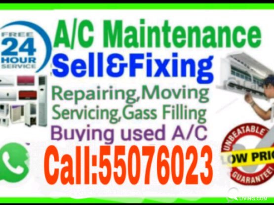 A,/C (Low price and Servicing,Repairing 55076023
