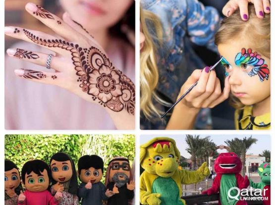 Henna,Facepainter,KidsEntertainments...