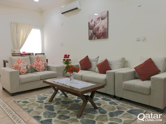 **NO COMMISSION** Beautiful 2BHK WITH GYM AND WIFI@ BIN OMRAN